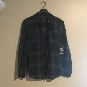 NWT Hurley Button up - Size S